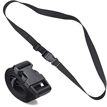XTACER Set Of 2 Backpack Accessory Strap Luggage Straps Cover Sleeping Bag