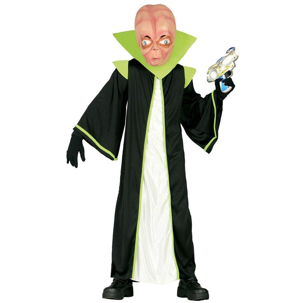 Disfraz de alienígena infantil mediano (5-6 años): Amazon.es ...