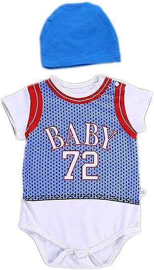 Odziezet Bebé Mono Deporte Baloncesto Niño Niña Ropa Recien ...