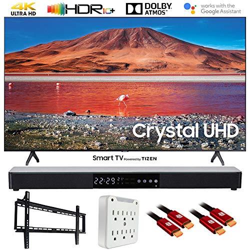 🥇 SAMSUNG UN58TU7000 58″ 4K Ultra HD Smart LED TV