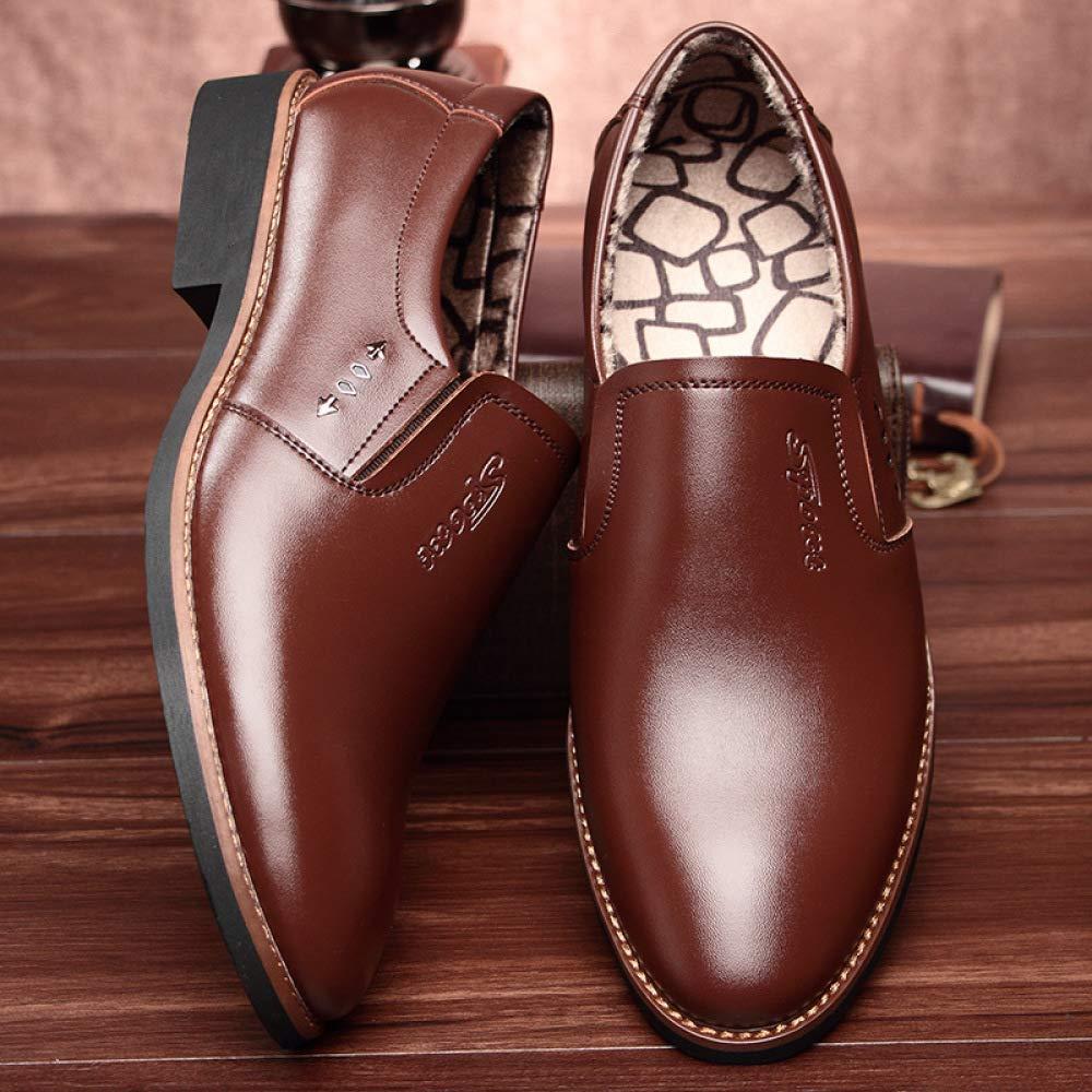 DHFUD Casual Business Anzüge Herrenschuhe British Casual DHFUD Schuhe Herrenschuhe Braun f1408f