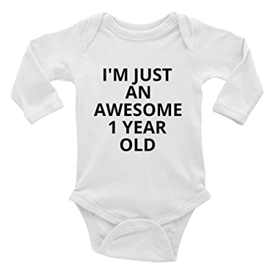 ca74e902b Family Gift Designs Gift For 1 Year Old Boy Girl Birthday Party - Infant Long  Sleeve