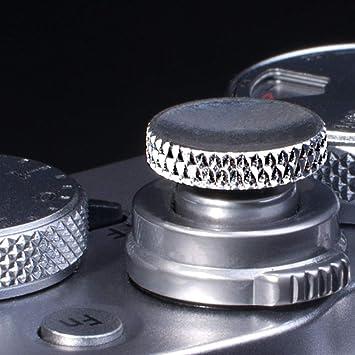 Camera Soft Release Button JJC Shutter Button for Fuji Fujifilm X-T4 X-T3 X-T2 X-T30 X-T20 X-T10 X-PRO3 X-PRO2 X100V X100S X100T X100F X30 X20 X-E3 X-E2S RX10 II III IV Leica M10 M-E M-P 2Pack