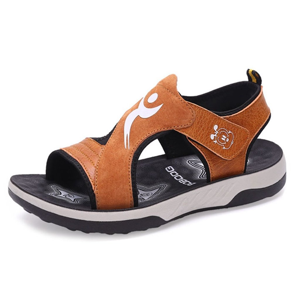 Boy's Girl's Sport Sandals Kid Summer Outdoor Athletic Breathable Open-Toe Hook Strap Sandals