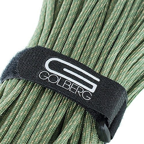 MIL-SPEC-C-5040-H Authentic Mil-Spec 550 Paracord - 550 lb Type III 7 Strand 5/32