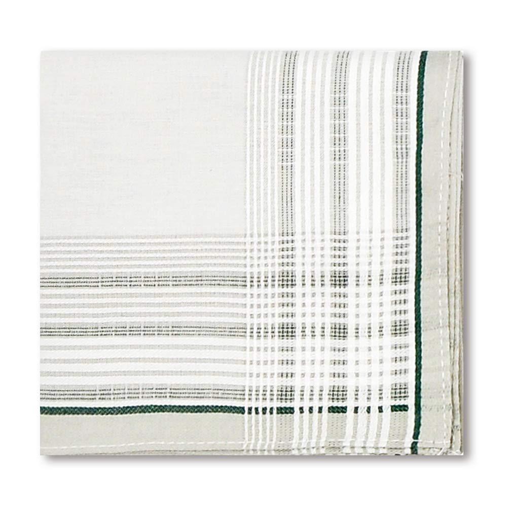 Handkerchiefs Mens 100/% Cotton Soft 6 Piece Gift Set by Zenssia