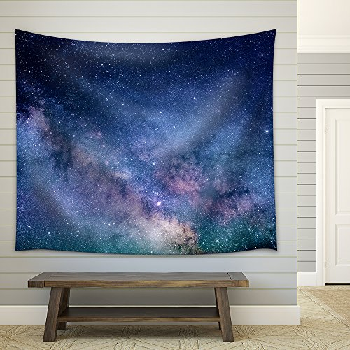 Starry Night Sky Deep Outer Space Fabric Wall Tapestry