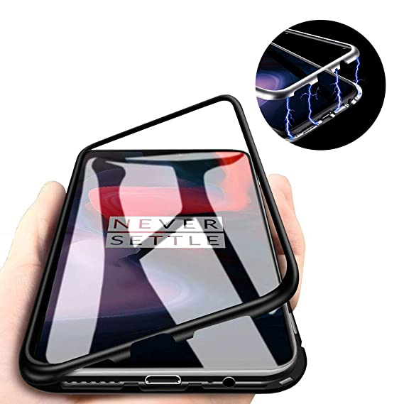sneakers for cheap 99439 f7d29 Amazon.com: OnePlus 6 Magnetic Adsorption Case, Magnets Built-in ...