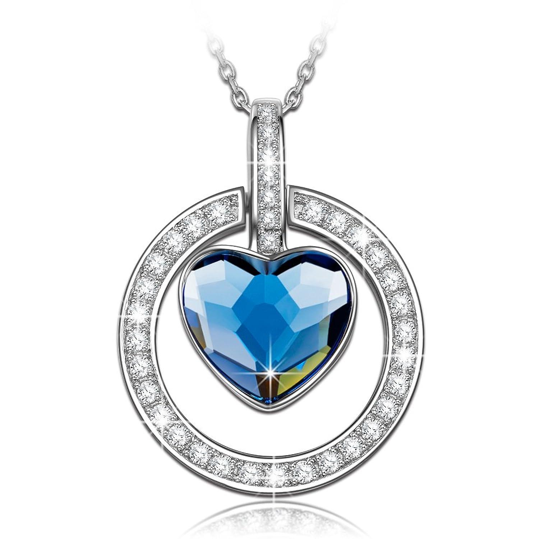 NINASUN Algunos le Gustan Plata Fabricados con Cristales SWAROVSKI® Colgante Collar Mujer