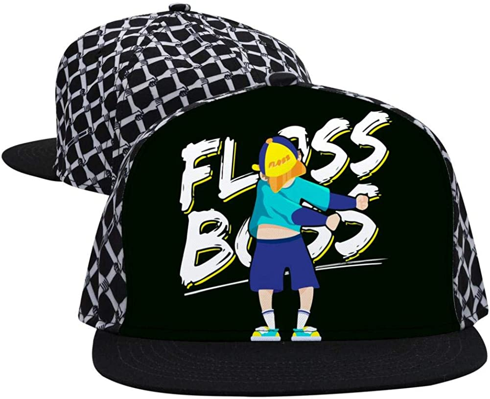 JUSEHAT Floss Bo-ss Dance Fashion Printed Hip Hop 3D Embroidered Lovers Couples Snapback Caps Adjustable Unisex