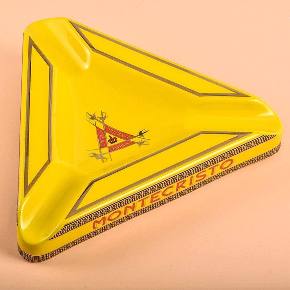 SMCGJL personnalit/é Multifonctionnel fum/ée /étonnant Triangle cendrier /à cigares Montecristo