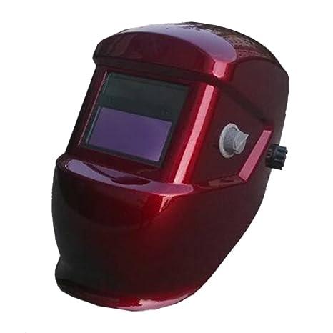 Color sólido valianto Solar Oscurecimiento Automático de soldadura Casco Máscara de Soldador