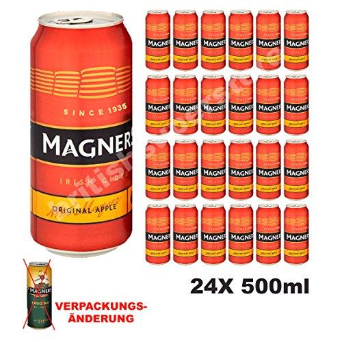 Original Magners Irish Cider 24x 500ml 4,5% Vol. - Kohlensäurehaltiges Apfelweingetränk der Premiumklasse
