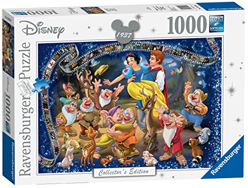 (Ravensburger 19674 Disney Snow White Collector's Edition 1000 Piece Puzzle for Adults, Every Piece is Unique, Softclick Technology Means Pieces Fit Together Perfectly)