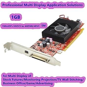 AZrm 1MiniDP+VHDCI a 4HDMI/4DVI 5M, tarjeta de vídeo de ...