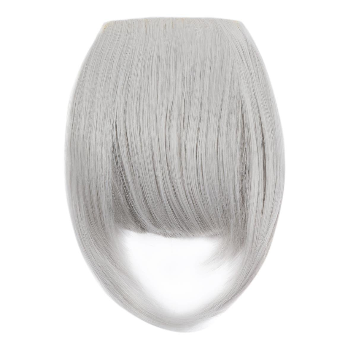 FOCUSSEXY Front Neat Hair Bangs Cosplay Synthetic Heat Resistant Natural Hair Wigs As Real Hair by FOCUSSEXY (Image #2)