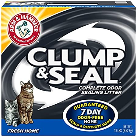 Amazon Com Arm Hammer Clump Seal Litter Fresh Home Lbs