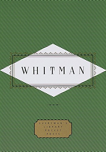 Whitman: Poems (Everyman's Library Pocket Poets Series)