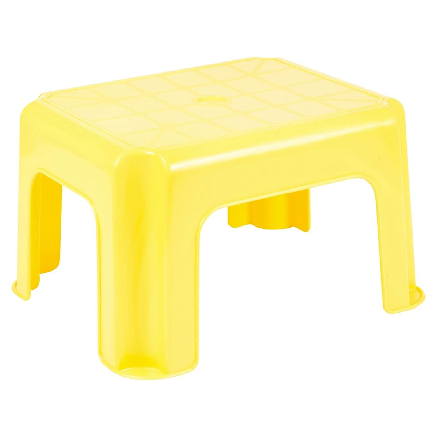 Easygift Products Multi Purpose Step Stool Sturdy Stackable Plastic