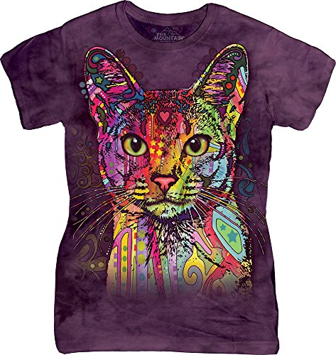 The Mountain Juniors Abyssinian Graphic T Shirt  Purple  X Large