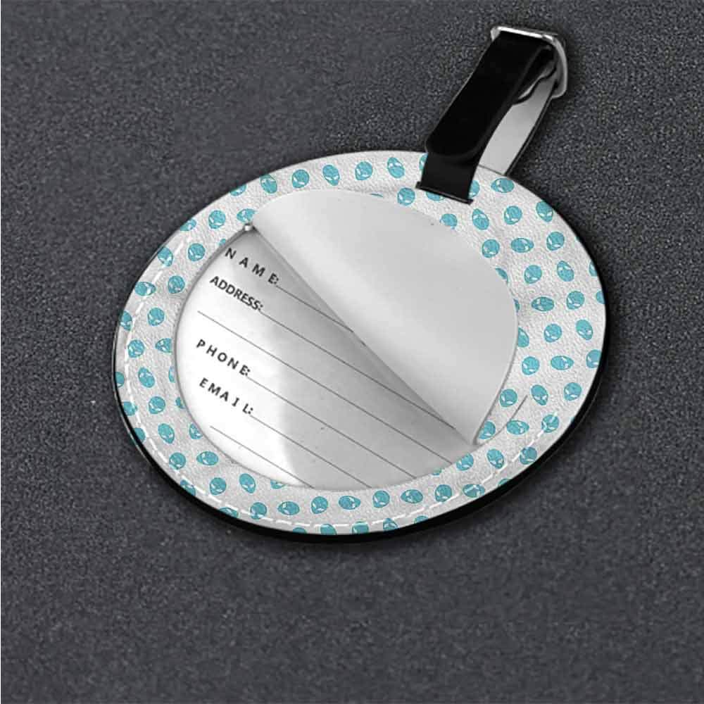 Luggage Tags Aloha,Tropical Flowers Leaves Label Travel Accessories