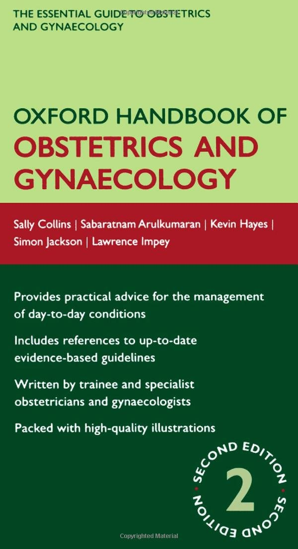oxford handbook of obstetrics and gynaecology oxford medical rh amazon co uk