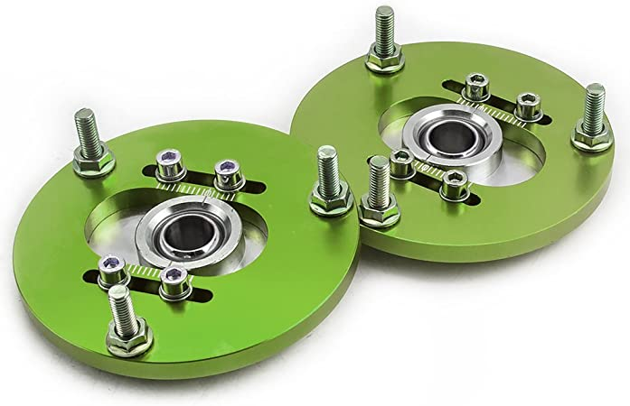 maXpeedingrods Placas de inclinación Camber Plates Delanteros ...