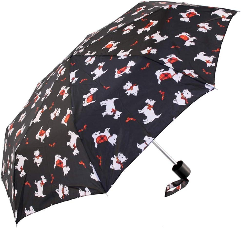 Incognito Parapluie Motif chien Scottie