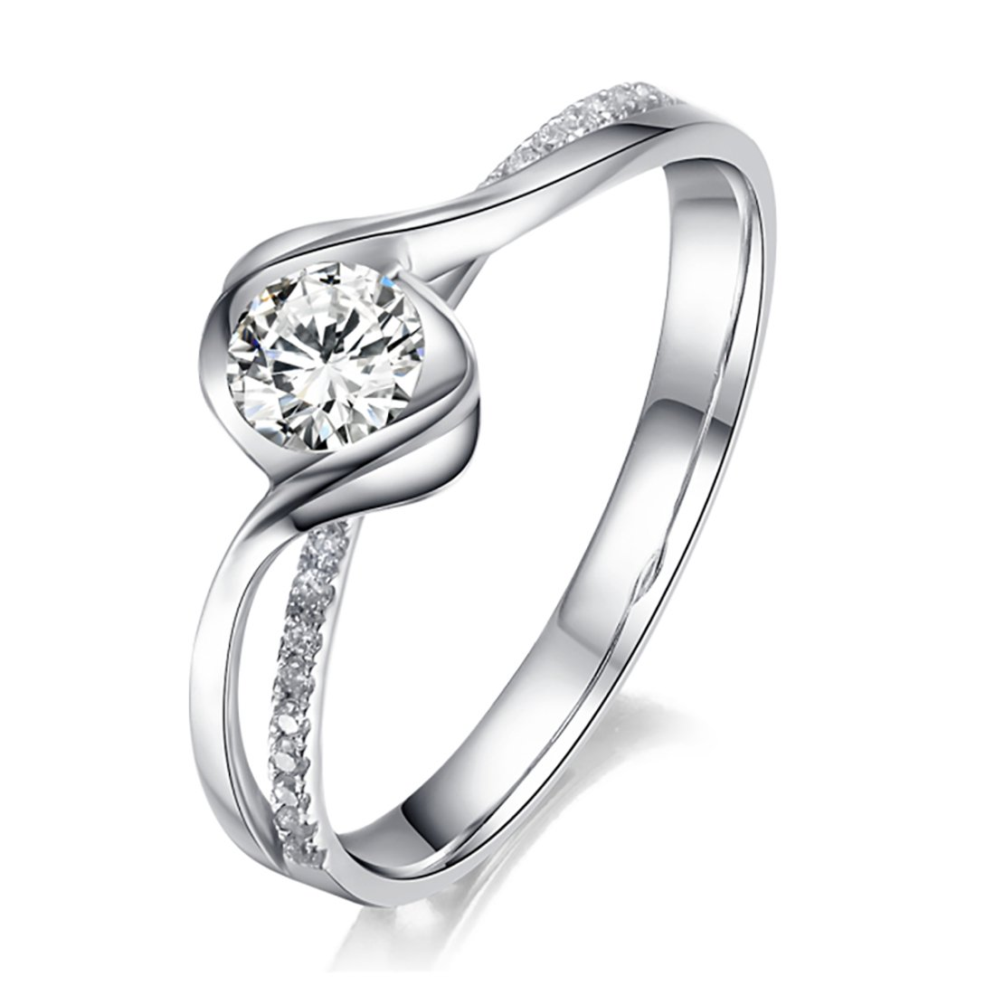 5566b0403 STUNNING SCARLET ADJUSTABLE AMERICAN-DIAMOND RING: Amazon.in: Jewellery