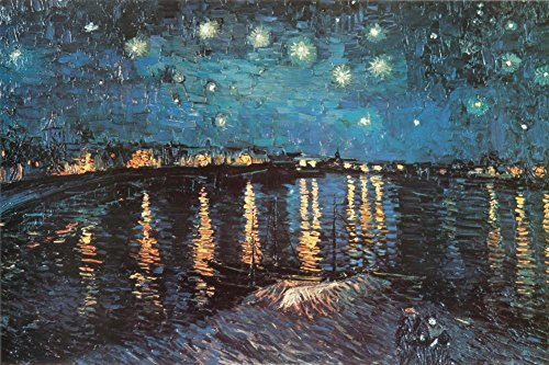 Starry Night over the Rhone, c.1888 Poster by Vincent van Go
