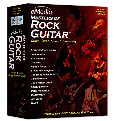 eMedia Masters of Rock Guitar by eMedia