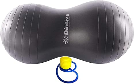 Bintiva Peanut Ball, Including a Free Foot Pump, for Labor, Physical ...