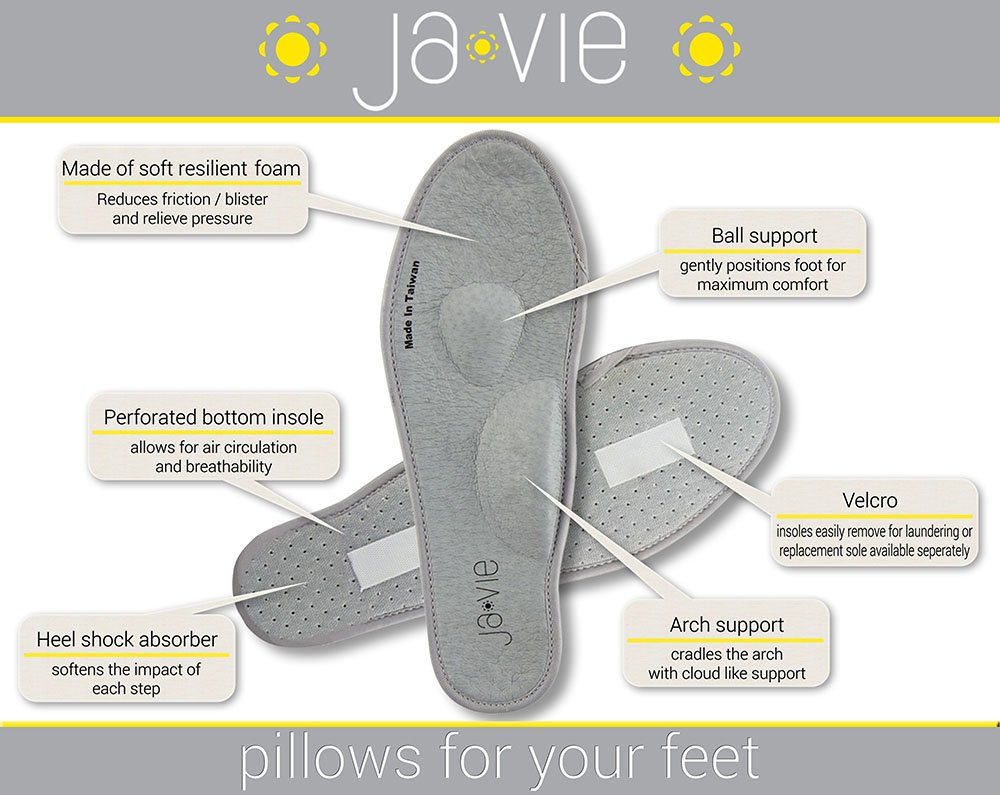 JA VIE Foldable Comfortable Shoes for Women Cute Flats for Every Day Wear Driving Walking, Camel Leopard SZ 39 by JA VIE (Image #4)