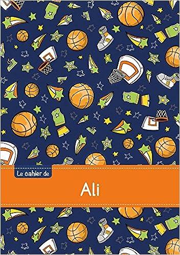 En ligne Le cahier d'Ali - Blanc, 96p, A5 - Basketball pdf epub