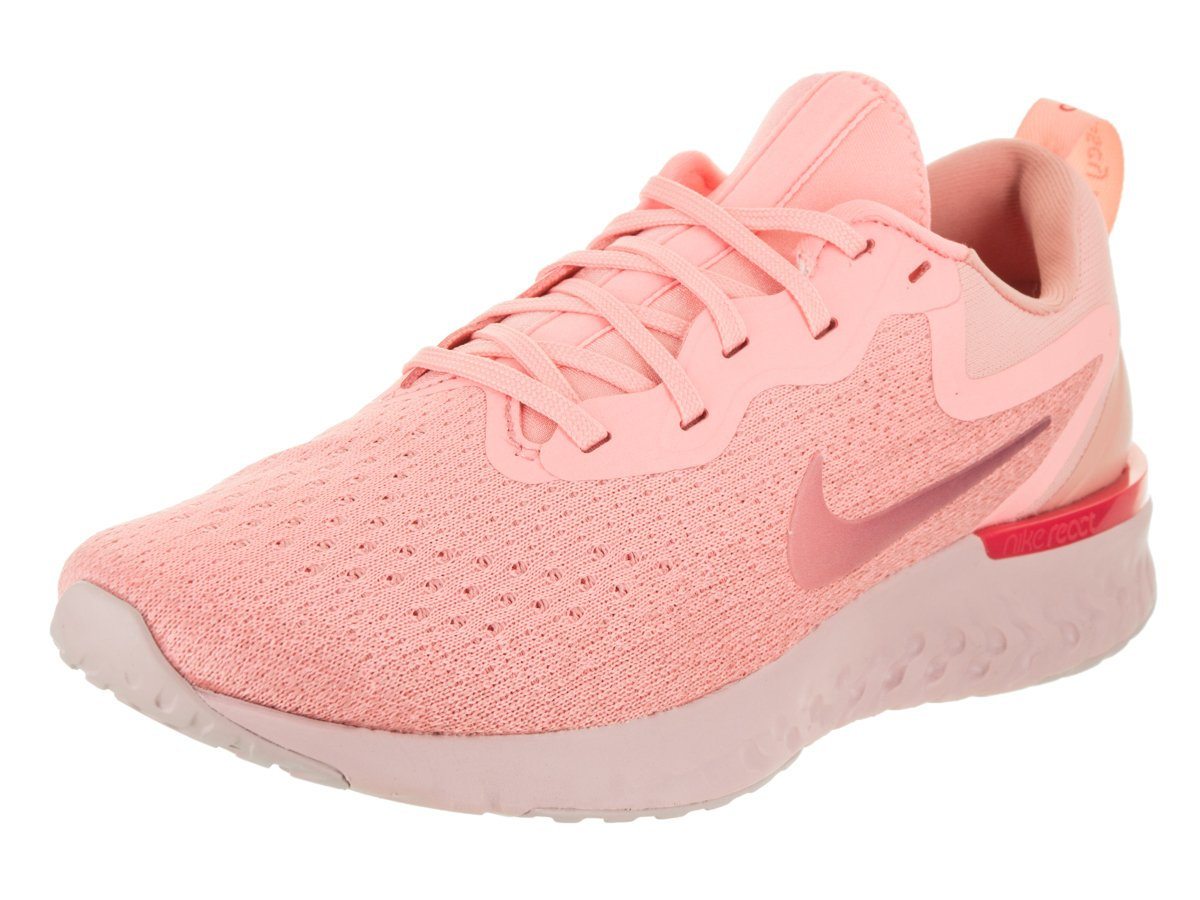 273035b7bd72 Galleon - Nike Women s Odyssey React Running Shoe Oracle Pink Pink  Tint Coral Stardust Size 8 M US