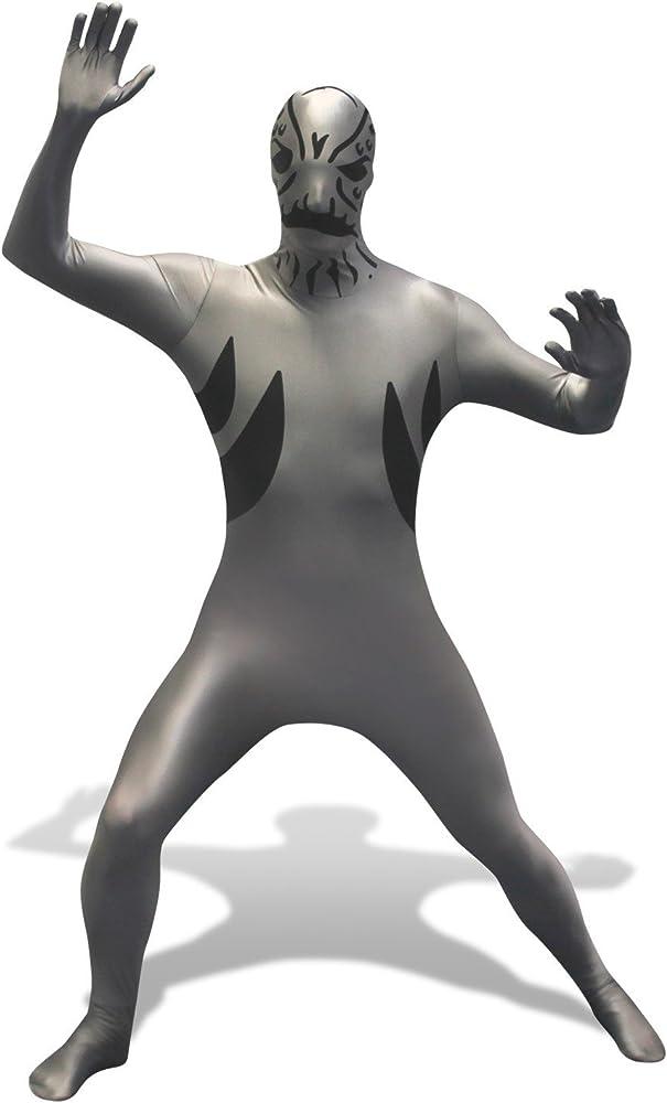 Disfraz Morphsuit Villano De Los Power Rangers Masilla Adulto ...