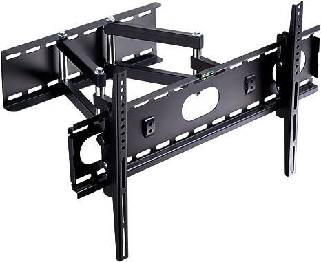 Soporte de Pared para TV Articulación de Movimiento Completo Se Adapta a la mayoría de los televisores de Pantalla Plana de 82-153cm y Plasma Suptek MA5073