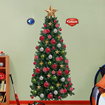 Amazon.com: Fathead Christmas Tree Wall Graphic: Home & Kitchen