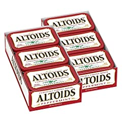 Always stay fresh and ready for what comes your way with ALTOIDS Classic Peppermint Breath Mints. From business meetings in the boardroom to first dates at your favorite watering hole, there's never a good time to have bad breath. These curio...