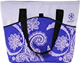 Gaiam Picnic Tote - Purple Paisley (30905)