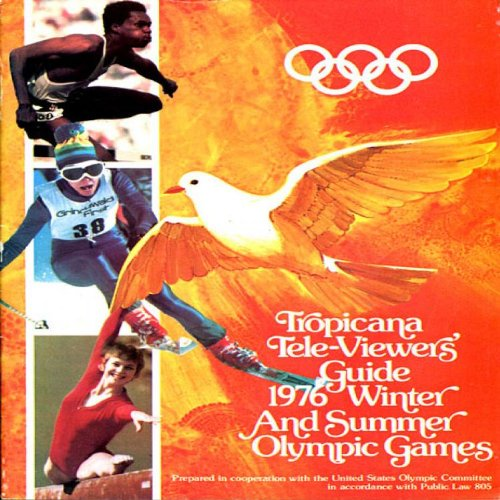 1976 Winter and Summper Olympic Games Tropicana Tele-Viewers' Guide