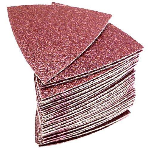 Fein 6-37-17-085-01-7 Triangular Hook & Loop Sanding Sheets 120 Grit 50 per Package (63717085017) (7 Multimaster)