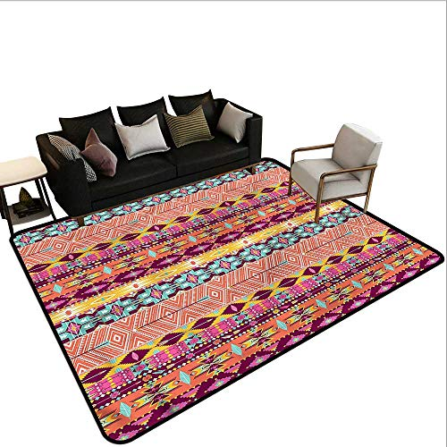 Aztec,Anti-Slip Cooking Kitchen Carpets 48