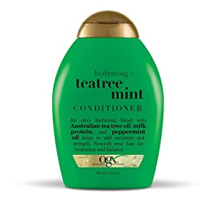 OGX Hydrating + Tea Tree Mint Conditioner, 13 Ounce
