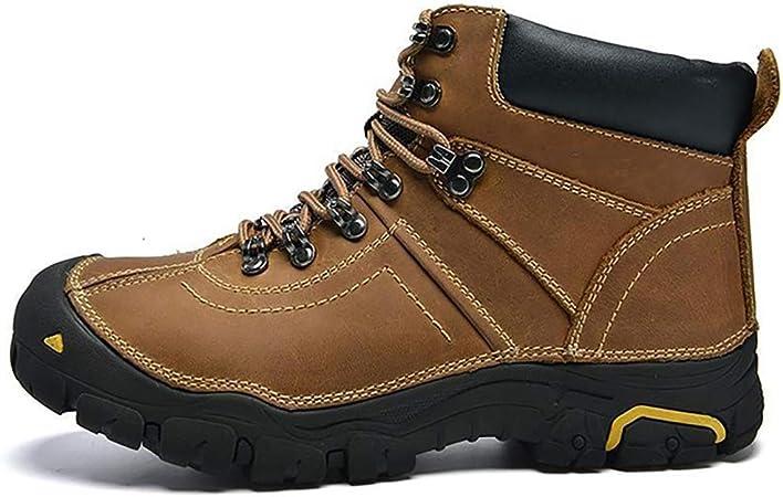 FUNSHE Mens Hiking Boots, Winter plus