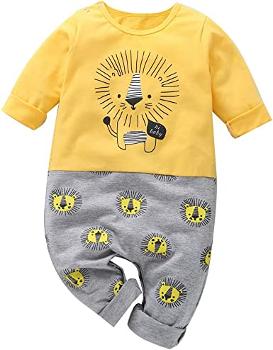 Arsmt Baby Boys Toddler//Infant Kids Cute Lion Face T-Shirt