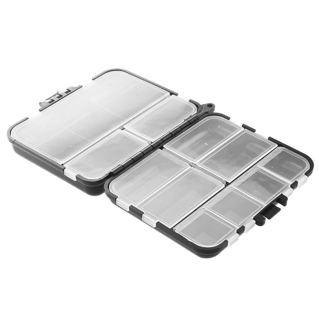 Herramienta de pesca ecologica impermeable Contenedor estuche caja de almacenamiento de trasto cebo senuelo con 26 compartimientos R SODIAL
