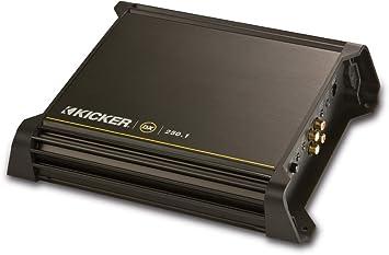 amazon com new kicker dx250 1 250w 2 ohm mono class d car audio new kicker dx250 1 250w 2 ohm mono class d car audio amplifier amp