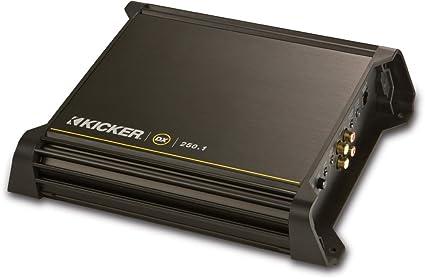 Peachy Amazon Com Kicker Dx250 1 250W 2 Ohm Mono Class D Car Audio Wiring Cloud Scatahouseofspiritnl