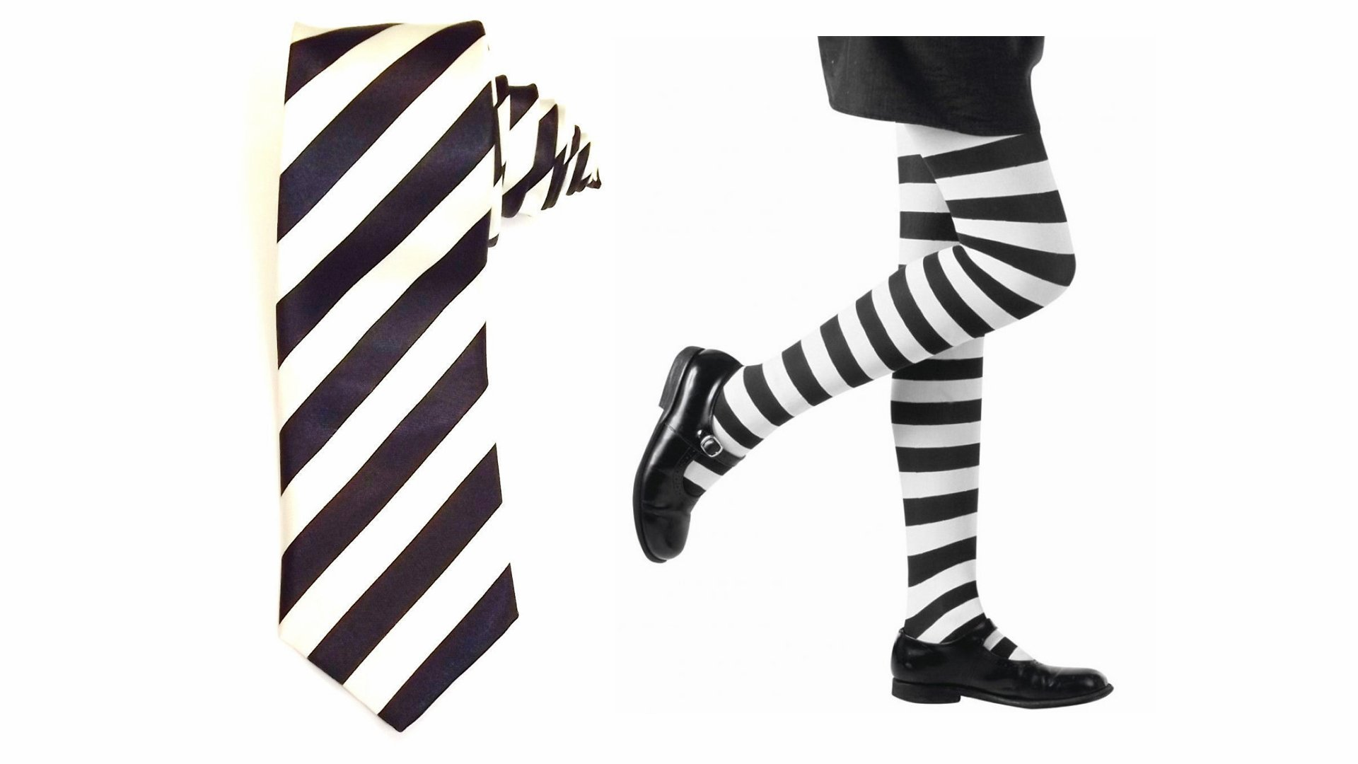 ILFD GIRLS CHILDS WITCH MILDRED HUBBLE TIE STRIVE STICKER BADGE TIGHTS AGE 4-11